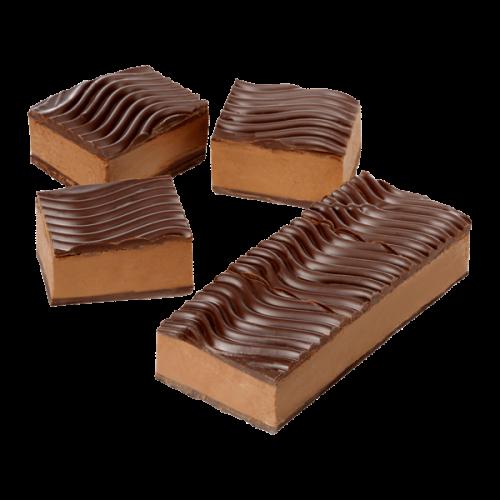 Nougat Dessert Zartbitter