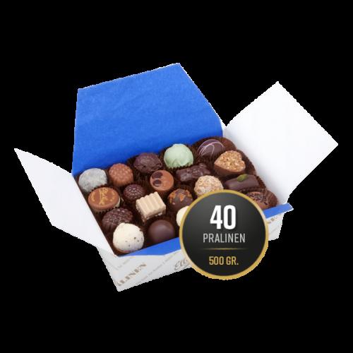 500g Pralinenmischung gefüllt mit 40 Pralinen