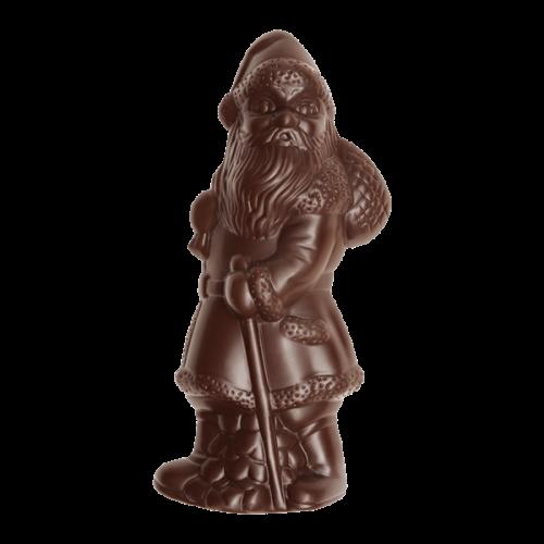 Nikolaus im Relief, Zartbitterschokolade