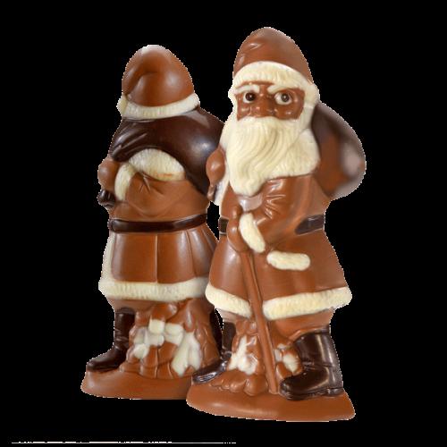 Nikolaus mit Nougatfüllung, Vollmilchschokolade