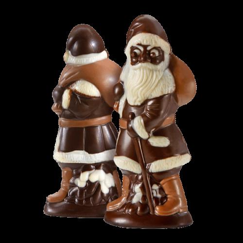 Nikolaus mit Nougatfüllung, Zartbitterschokolade