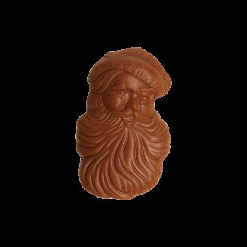 Weihnachtsmann Gesicht klein, Vollmilchschokolade