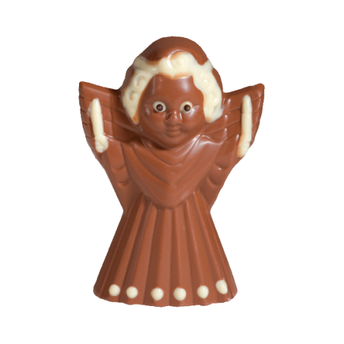 Nougat-Engel mit Faltenrock, Vollmilchschokolade