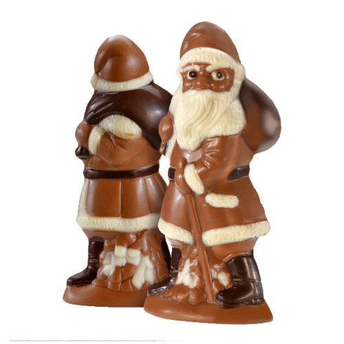 Beschwipster Nikolaus, Vollmilchschokolade