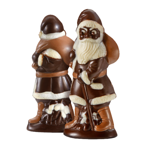 Beschwipster Nikolaus, Zartbitterschokolade
