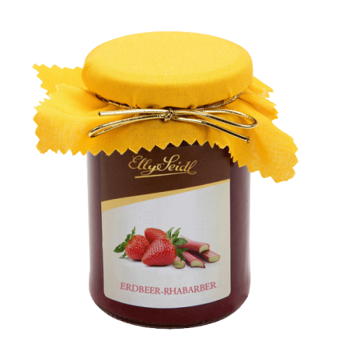 Fruchtaufstrich Erdbeer-Rhabarber (220g)